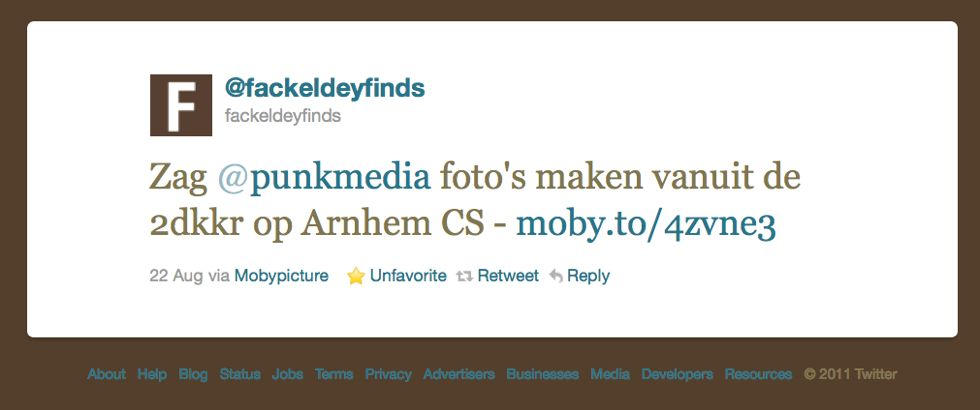 Fackeldeyfinds tweet