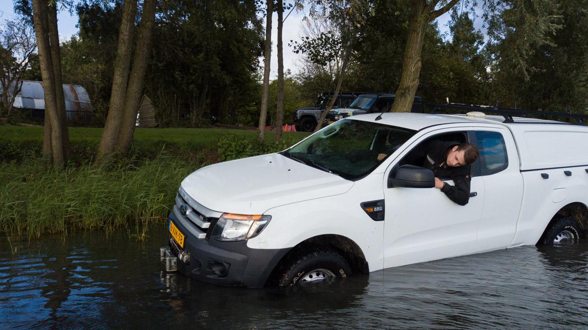 Watergoed Valburg 4WD te water 1200 1